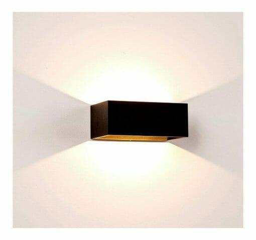 MIA Black Up & Down LED Wall Light