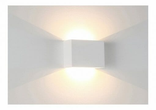 Candy Square Plaster LED Wall Light