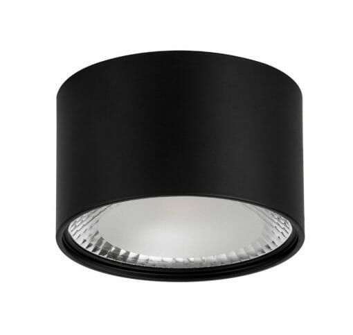 NELLA Black 12w Surface Mounted LED Downlight