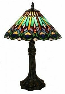 TOONGABBIE- LEADLIGHT TABLE LAMP