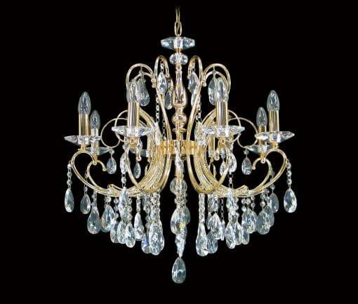 Asfour Crystal 2013 24″ 6 Light Pendant